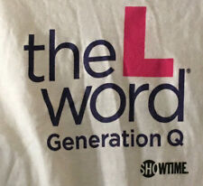 Rare 'The L Word: Generation Q' SHOWTIME Men's M T-Shirt - NEW cond.
