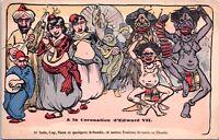 La Coronation d'Edward Vii 1901 Unused Antique Postcard E20