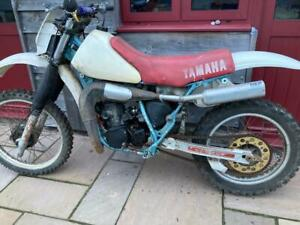 Yamaha YZ 250J 1982 bike barn find matching numbers project restoration