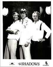THE SHADOWS HANK MARVIN & GROUP ORIGINAL RECORD LABEL PROMO PHOTO RARE
