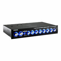 Audiopipe EQ-709X 7 Band 9.V Half DIN Parametric Graphic Car Audio Equalizer EQ