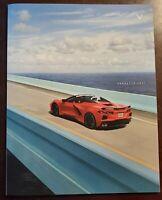 "2021 Chevrolet Corvette Stingray C8 - Z51 Prestige ""BIG"" Brochure 64 pages - NEW"
