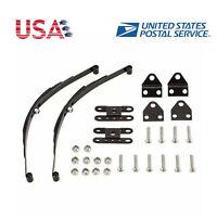 Metal Leaf Spring Suspension Bar for 1:10 RC Crawler SCX10 TF2 D90 RC4WD