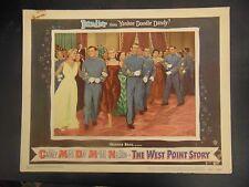 "The West Point Story Original 11x14"" Lobby Card #M6264"