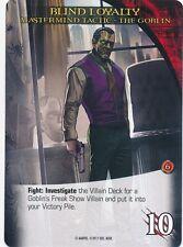 GOBLIN Upper Deck Marvel Legendary NOIR MASTERMIND TACTIC BLIND LOYALTY