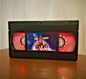 The Big Bang Theory Retro VHS Night Light, Desk Lamp, Led, Bedroom Lamp, Kids