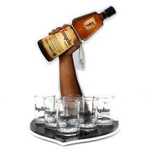 FRANGELICO Gläser 6er Set inkl. Shot Tablett geeicht Likör Glas Shot Bar Gastro