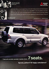 2001 Mitsubishi Montero - Spring - Classic Vintage Advertisement Ad D65