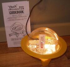 Incubator Chick-Bator Mini Egg  110V w Guidebook Hatching GQF Quail Chicken duck