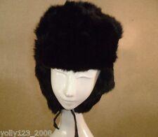 Vintage Wms/Man Pot-Opoht Russian Ushanka Cossack Dark Brown Beaver Fur Hat 7