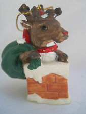VINTAGE HERITAGE MINT HOLIDAY COLLECTION CHRISTMAS ORNAMENT -RANDOLPH REINDEER
