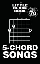 The Little Black Book Of 5-Chord Songs Play Rock POP BLUR Guitar Music Book
