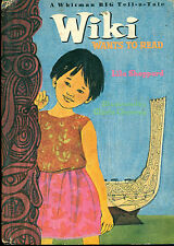 WIKI Wants To Read by Lila Sheppard (1968) Whitman BIG Tell-A-Tale book