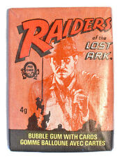 O-Pee-Chee (Topps) RAIDERS OF THE LOST ARC [Indiana Jones] Wax Pack (1981)
