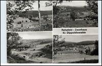 DDR Postkarte Sachsen REHEFELD-ZAUNHAUS Kr. Dippoldiswalde Mehrbildkarte 1988