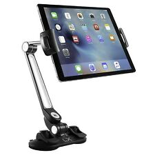 Luxitude 2-in-1 Tablet & Phone Holder Stand E-Reader Tablets Suction Cups & 360