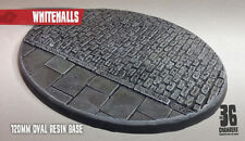 Whitehalls 1 x 120mm oval resin cobblestone base