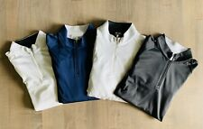 4some of adidas most comfortable men's golf quarter zip pullovers - size medium