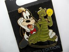 Disney Pin Bindk Figment Litesup For Goofy Le
