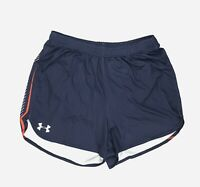 New Under Armour Armourfuse Running Track Short Mesh Liner Men's Large Navy