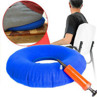 Rubber Ring Seat Inflatable Round Cushion Medical Hemorrhoid Pillows Sores Conut