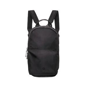 Stighlorgan Logan Laptop Backpack In Black HD210D Nylon With Zip Pocket