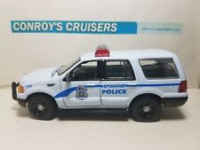 MN Police Ford Crown Victoria UNSTAMPED BOX Cars, Trucks & Vans Gearbox 1/43rd scale Rochester