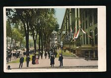 USA New York SARATOGA  Broadway Looking East c1902 u/b PPC