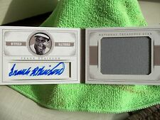 Frank Robinson Orioles Panini 2014 National Treasures Auto Jersey Booklet 18/25