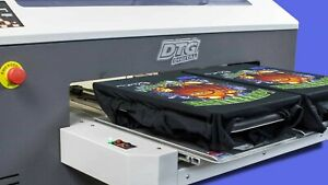Codesi Direct to Garment Printer DTG with ink and pretreat machine