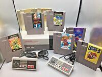 *REFURBISHED* NEW 72 PIN Original NES Nintendo System Console Choose Your Bundle