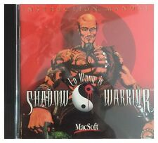 Lo Wang Is Shadow Warrior for Older Mac Systems Brand New Sealed -Free U.S. Ship