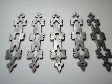 15 cm,Lot de 5 Anciennes Entrées de serrure ou Clé en Fer,Porte,Meuble,Plaques