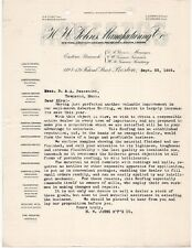 1895 HW JOHNS MFG CO ASBESTOS & FIREPROOFING MATERIALS FEDERAL ST BOSTON MA