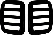Toyota Tundra Extended Cab Side Window Louvers V-Tech 3057 2000-2001