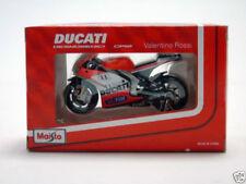 Motocicleta de automodelismo y aeromodelismo Ducati de escala 1:18