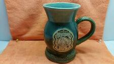 2000 Carolina Renaissance Festival Hand Made Grey Fox Pottery Beer Mug Stein