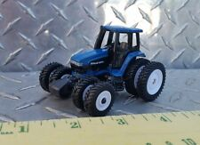 1/64 ertl custom farm toy new Holland 8970a tractor with all around spaced duals
