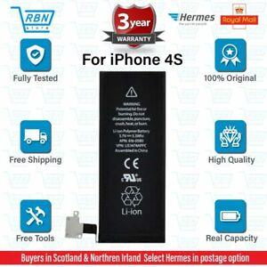 Genuine Apple iPhone 4S battery Original Replacement 1430mAh 3.7V Li-ion