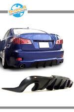 Global 8 Urethane Rear Bumper Lip for 2006-2013 Lexus IS250/IS350 F-Sport Style