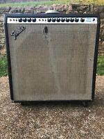 Fender Super Reverb Silverface 1970's Electric Guitar Amp Vintage 4x10 Combo