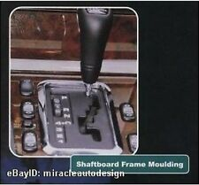 CHROME STAINLESS SHAFTBOARD GEAR FRAME FOR 1995-2002 MERCEDES BENZ W210 E-CLASS