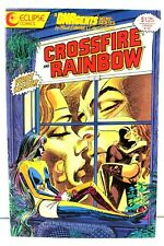 Crossfire & Rainbow #1 DNAgents Mini-Series 1986 Comic Eclipse Comics VG