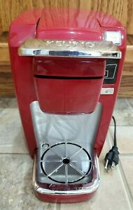 Keurig B31 Household Mini Plus Single Serve Coffee Maker Brewing System Red