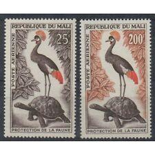 REPUBLIQUE DU MALI 1963 PROTEZIONE FAUNA 2 VAL MNH MF61538