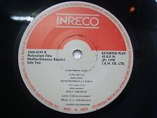 MADHURIKKUNNA RAATHRI  M S VISWANATHAN MALAYALAM FILM rare EP RECORD INDIA 1978