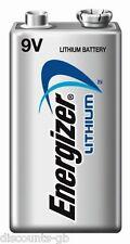 1 x Energizer Ultimate Lithium Battery 9V - Smoke Alarm, Wireless Mic - LA 522