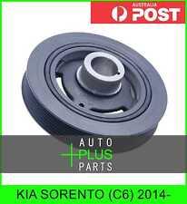 Fits KIA SORENTO (C6) 2014- - Crankshaft Pulley Engine Belt Harmonic Balancer