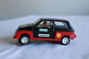 Vintage Scalextric MG Metro rally car