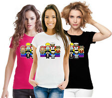 LGBT Lesbian Cop Indian Cowboy Sailor Gay Pride Rainbow Flag Ladies T Shirt